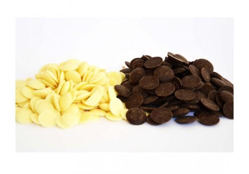 Copertura di cioccolato Oscar scura