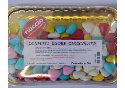 Confetti cuore cioccolato