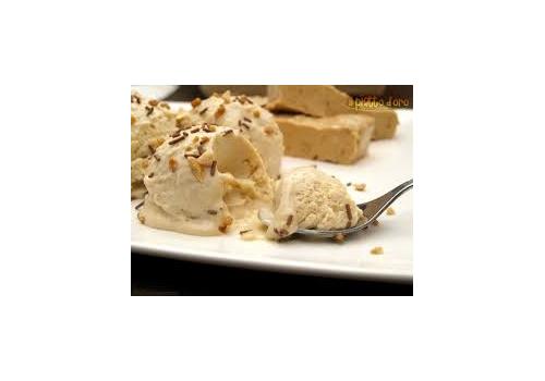 Pasta torrone per gelato