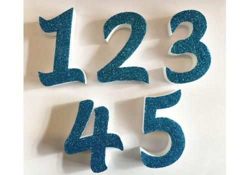 Numeri di polistirolo