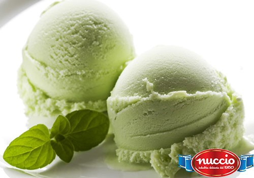 Pasta menta per gelato