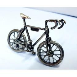 Bicicletta in argento