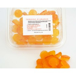 Tondini di scorza di arance