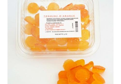 Scorzetta d'arancia a tondini
